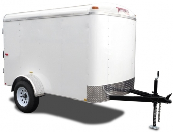 Photo of an Enclosed Trailer